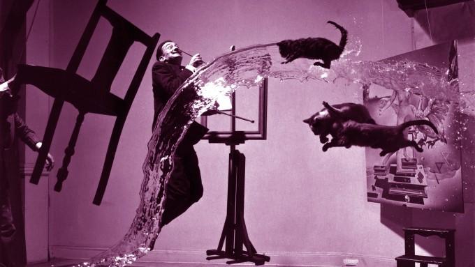 Dali Atomicus Artist: Philippe Halsman Created: 1948